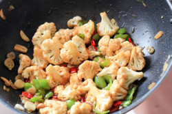 Stir Fry Cauliflower