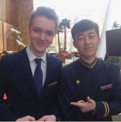 Mario from Germany doing his internship in Beijing